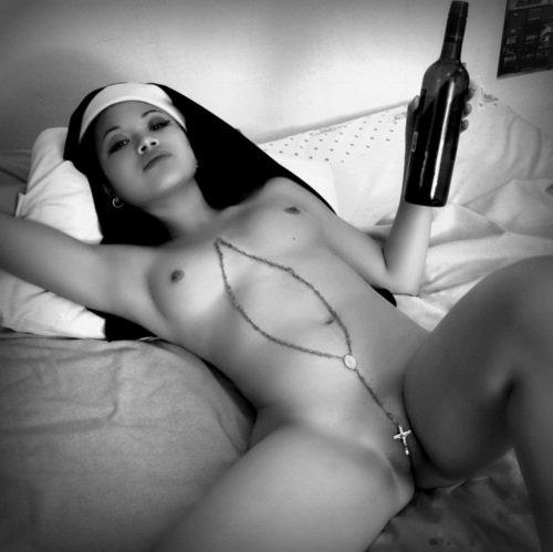 Nude Nun